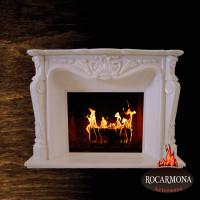 Marmora kamīna portāls Rocarmona RA-02