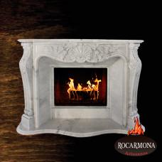 Marmora kamīna portāls Rocarmona RA-04