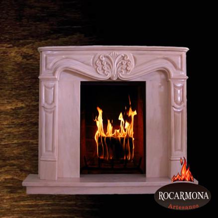 Marmora kamīna portāls Rocarmona RA-08